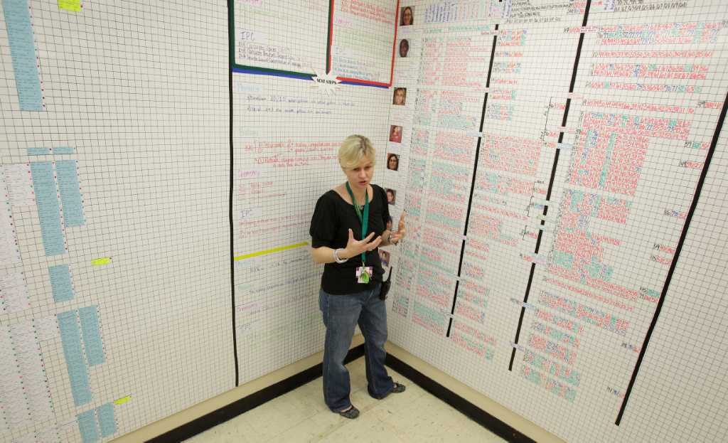 Data room\' keeps teachers, students focused on goals - Houston Chronicle