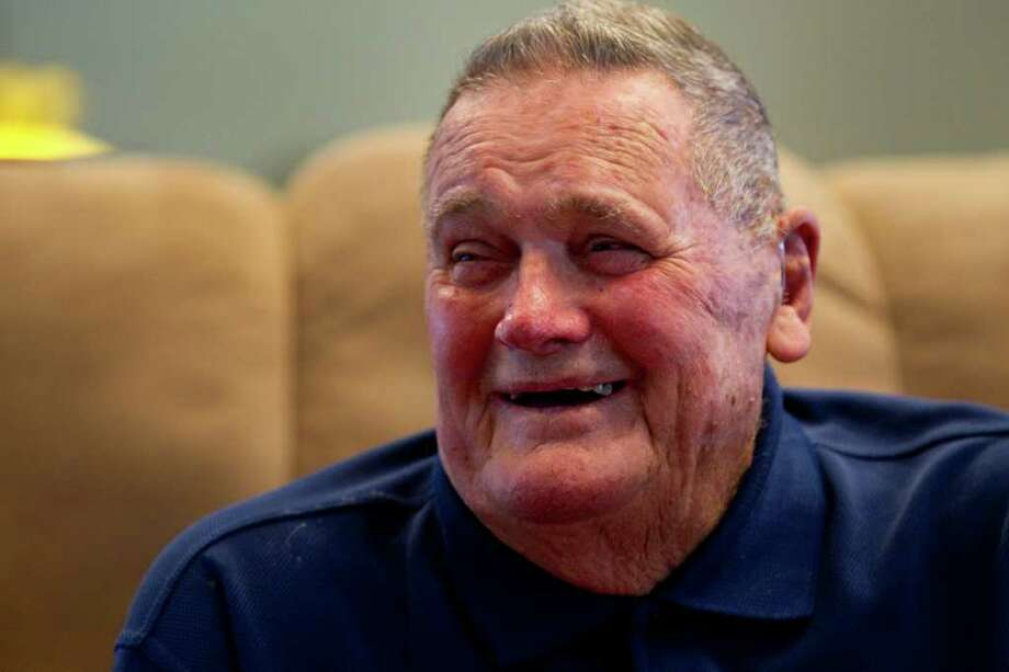 "Former Houston Oilers head coach O.A. ""Bum"" Phillips smiles during an interview at his ranch Tuesday, Sept. 21, 2010, in Goliad. ( Brett Coomer / Houston Chronicle ) Photo: Brett Coomer / Houston Chronicle"