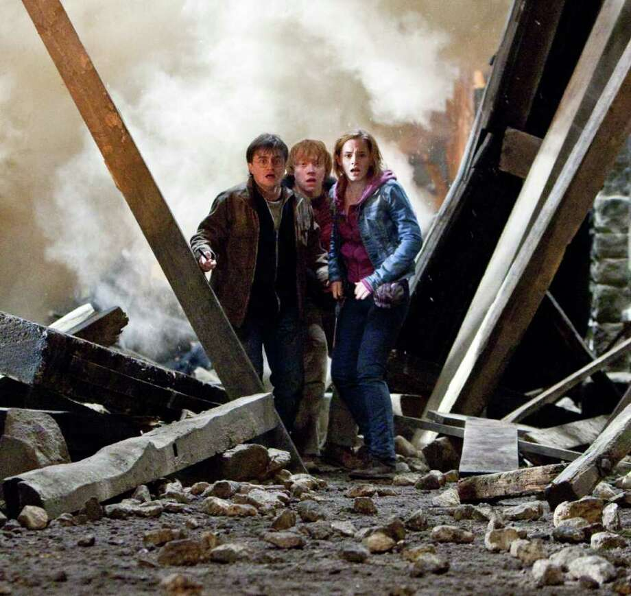 Young people  helped power some of the biggest movies of 2011, including Warner Bros.?s Harry Potter and the Deathly Hallows: Part 2, the year?s No. 1 release with $381 million in domestic ticket sales.  Warner Bros. Pictures. Photo: Jaap Buitendijk / (C) 2011 WARNER BROS. ENTERTAINMENT INC. HARRY POTTER PUBLISHING RIGHTS (C) J.K.R. HARRY POTTER CHARACTERS, NAMES AND RELATED IN