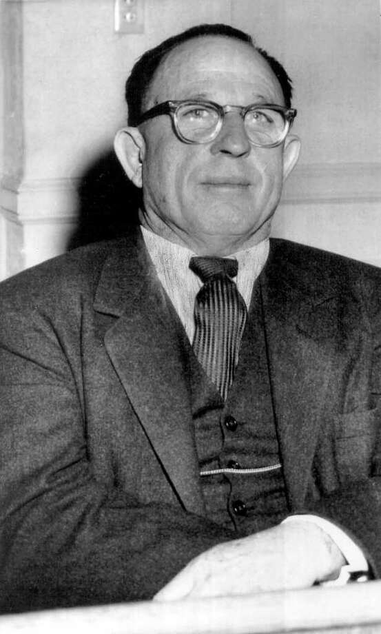 """George B. Parr, the """"Duke of Duval,"""" helped steal the 1948 Coke  Stevenson-Lyndon B. Johnson U.S. Senate Democratic primary for LBJ. A  reader cites the stolen election as an argument for the new Texas voter  ID law. Photo: FILE PHOTO"""