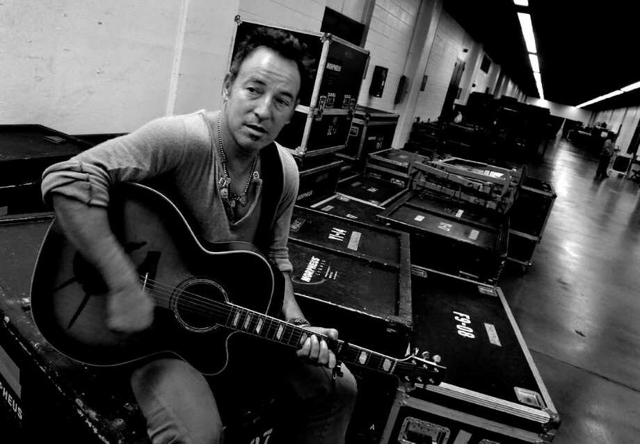 Bruce Springsteen,  in Baltimore in 2009, was inspired by the work of Dale Maharidge and Michael Williamson to write two songs. Photo: Michael Williamson
