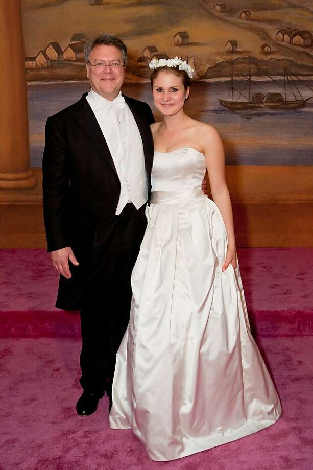 Nion McEvoy and his daughter, Helen McEvoy. Dec. 2011. By Hilary Hood. Photo: Hilary Hood, Special To The Chronicle
