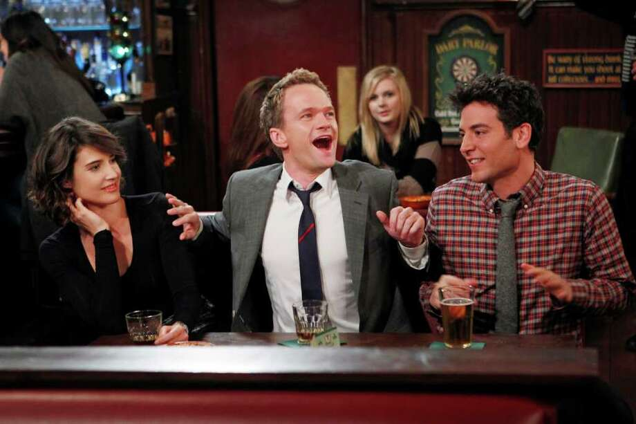 How I Met Your Mother: Barney has a way of getting his buddies to do things they don't want, but it's usually for their own good. Photo: Monty Brinton, STF / �©2011 CBS Broadcasting Inc. All Rights Reserved.
