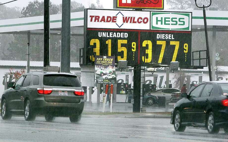 Don Bryan : Jacksonville Daily News THE COST OF DRIVING: Gasoline in the U.S. had an average price for the year of $3.52 per gallon, more than what drivers were paying this week in Swansboro, N.C. Photo: Don Bryan / The Daily News