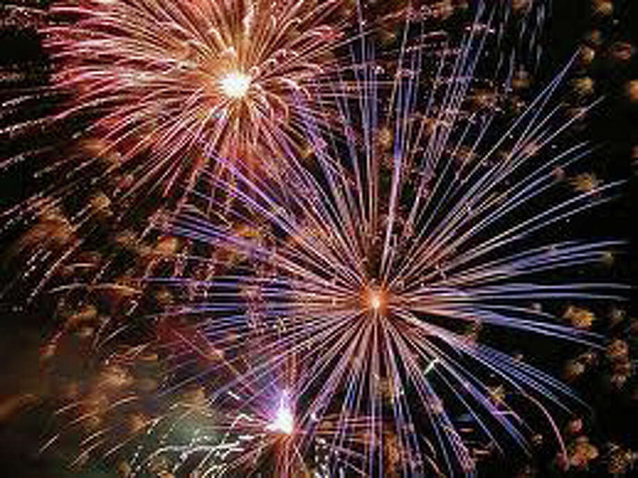 Have a blast at Westport First Night, where two fireworks displays -- at 8:30 p.m. and midnight -- help celebrants welcome 2012. Photo: File Photo / Westport News