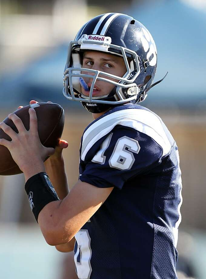 Marin Catholic's Jared Goff, a Cal recruit, threw 45 touchdowns last season. Photo: Dennis Lee