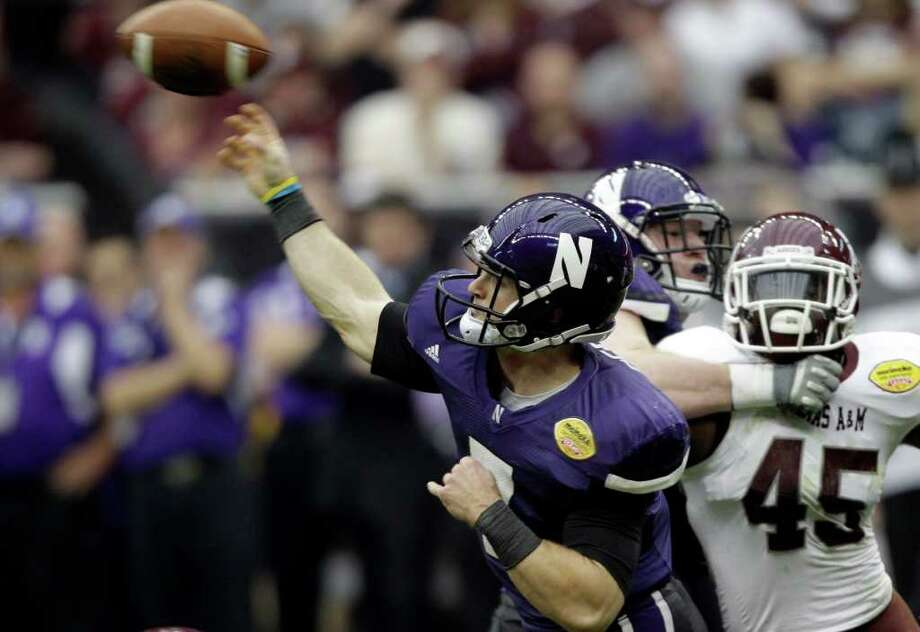 22.  Northwestern (10-3) Photo: David J. Phillip / AP