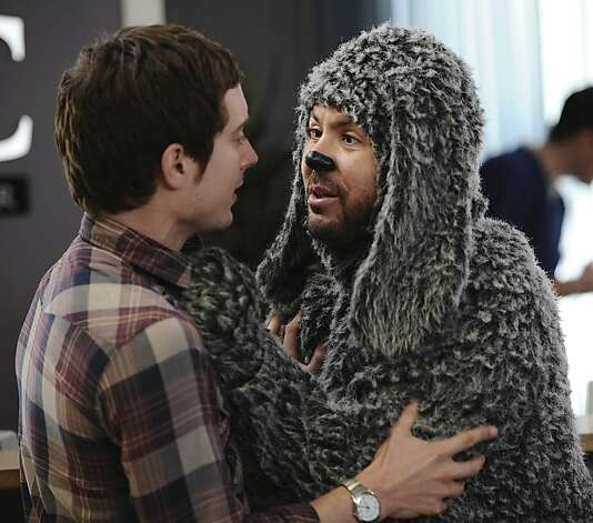 9. Wilfred, FX: Frodo hangs out with a bong-sucking, foul-mouthed Australian dude in a dog suit. Who says you can't find something new to laugh at? Well, a lot of people find it tasteless. Others find it tasteless and hysterical. Photo: Michael Becker/FX