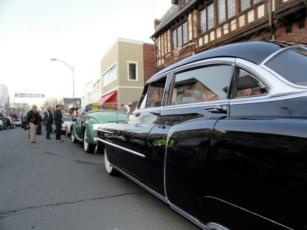 Crowds rang in the start of 2012 over eight hours of revelries at Westport's First Night Saturday night. Photo: Todd Tracy / Connecticut Post