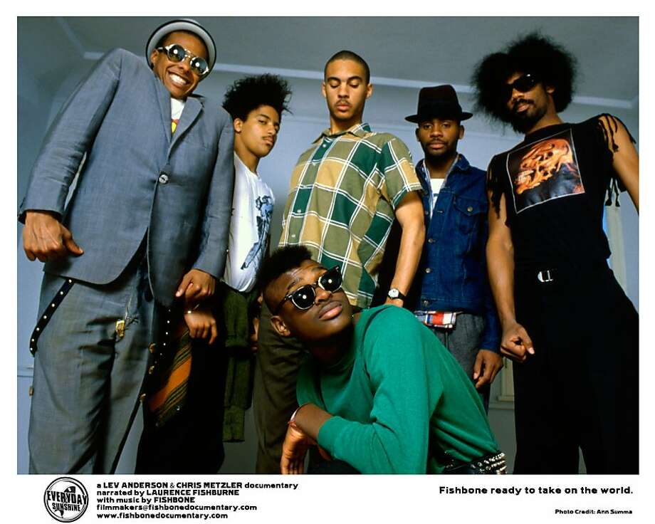 The band Fishbone, profiled in documentary EVERYDAY SUNSHINE: THE STORY OF FISHBONE Photo: Mill Valley Film Festival