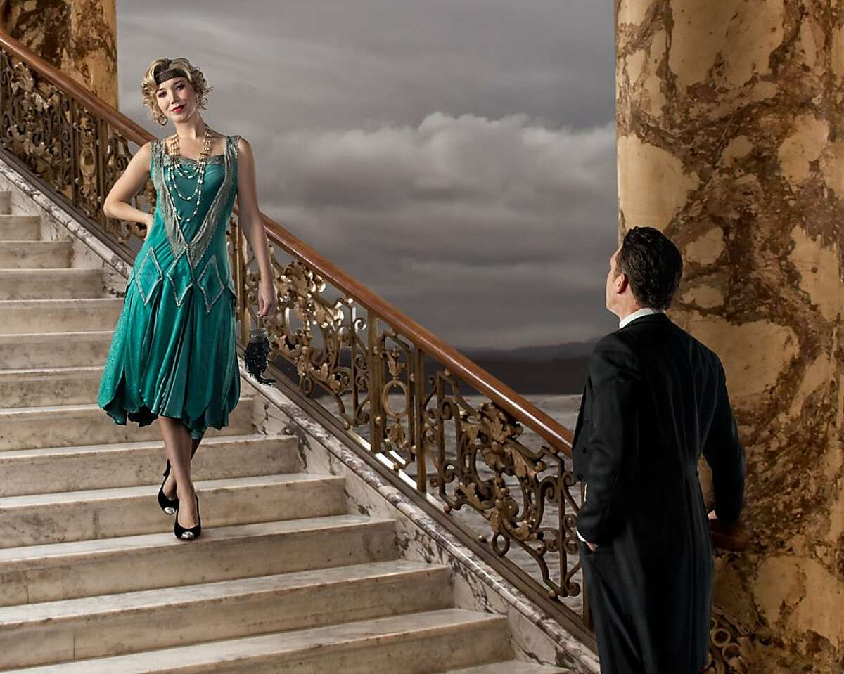 """Susannah Biller sings the part of Daisy in Ensemble Parallele's """"The Great Gatsby"""