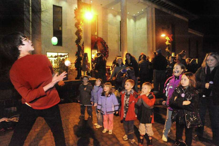 Are you looking for a way to include the whole family in New Year's Eve celebrations? Danbury's First Night is a great choice. Activities start at 4 p.m. For details, visit http://www.firstnightdanbury.org/ Photo: Michael Duffy