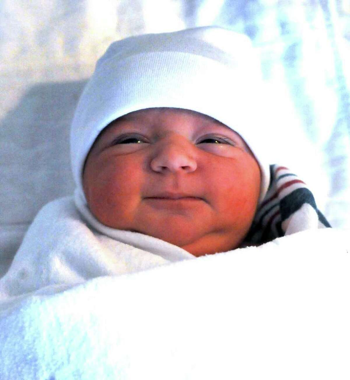 Arista, the first baby of the New Year, born to Sabit Vrzivoli, 33, and his wife Arta, 28, of Southbury, at Danbury Hospital at 9:54 A.M. Sunday, Jan 1, 2011.