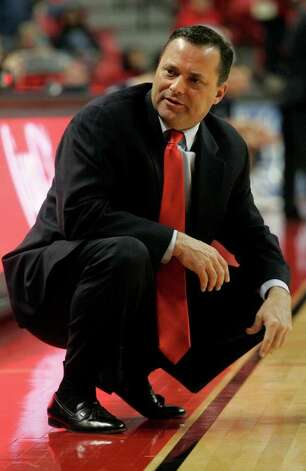 Former A&M coach Billy Gillispie started over at Texas Tech. Photo: STEPHEN SPILLMAN, AP, LUBBOCK A-J