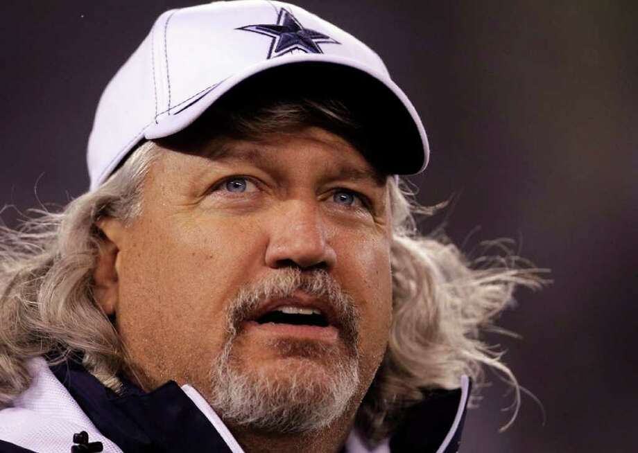 Dallas Cowboys defensive coordinator Rob Ryan waits for the start of an NFL game against the New York Giants Sunday, Jan. 1, 2012, in East Rutherford, N.J. Photo: Julio Cortez, Julio Cortez, Associated Press / AP