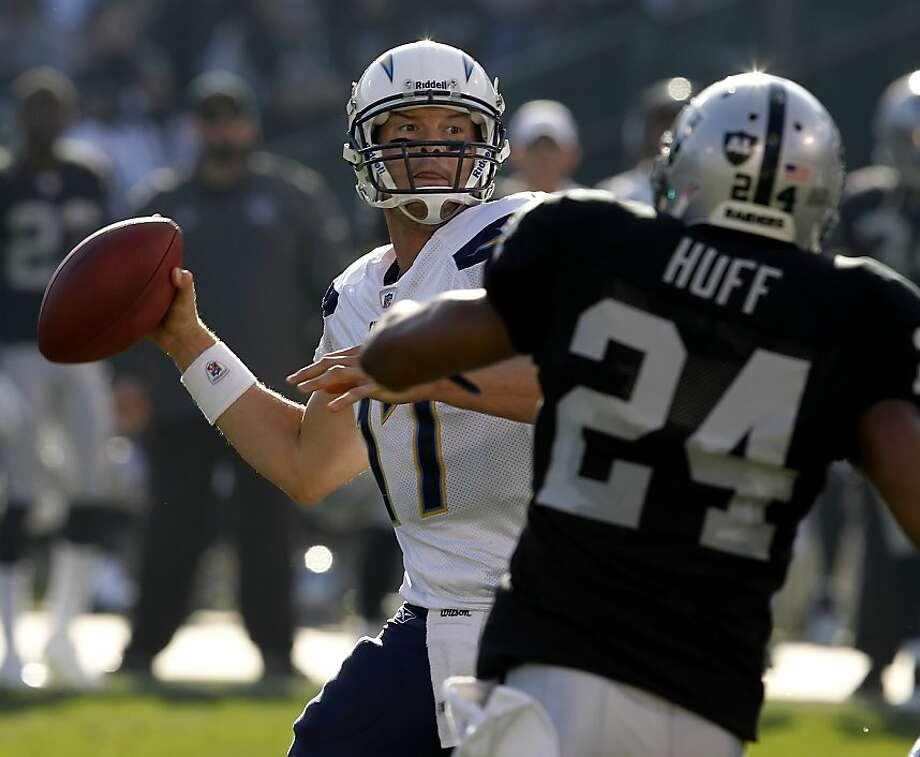 Chargers QB Philip Rivers has a 74 percent completion rate this season. Photo: Brant Ward, The Chronicle