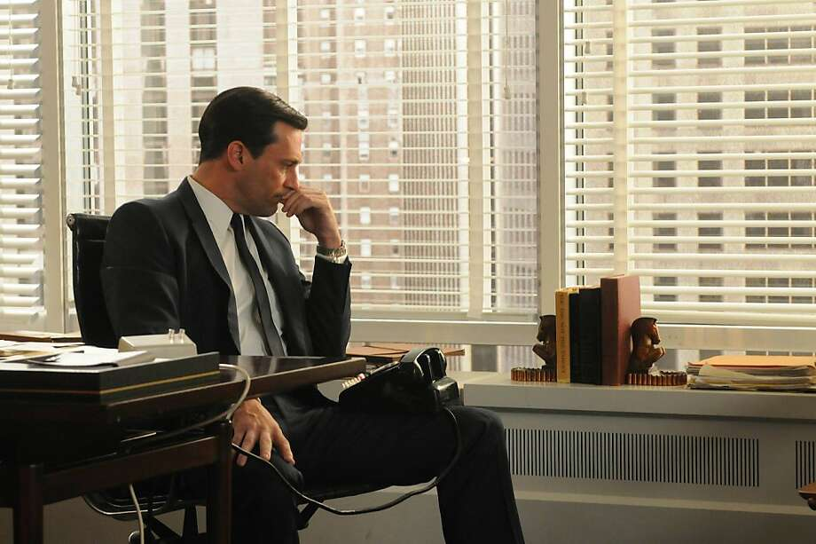 "John Hamm as Don Draper in AMC's, ""Mad Men."" Photo: Courtesy Of AMC"