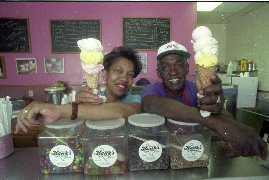 Hank's Ice Cream Photo: Hank's Ice Cream Hank And Okemah
