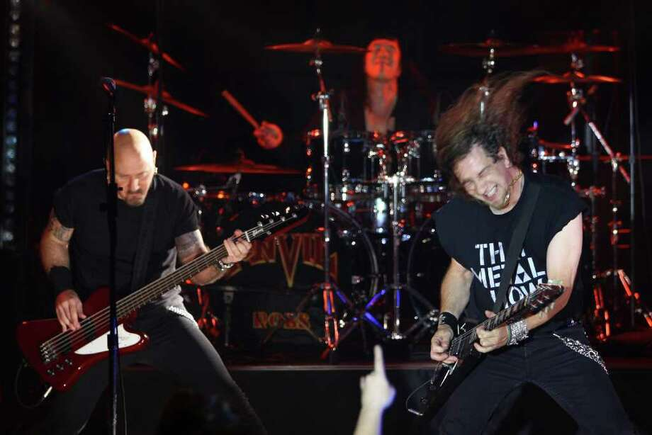 Anvil, March 3, Putnam Den. Canadian metal act revived by 2008 documentary.  Photo: Neilson Barnard, Getty Images / 2009 Getty Images