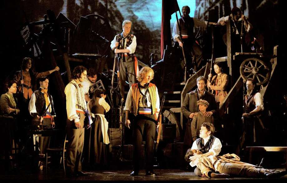 """Les Miserables"" performances run through Sunday at the Majestic Theatre. COURTESY PHOTO Photo: Deen Van Meer, Courtesy Deen Van Meer / ©2010 photographer Deen van Meer, photographer should be credited at all times"
