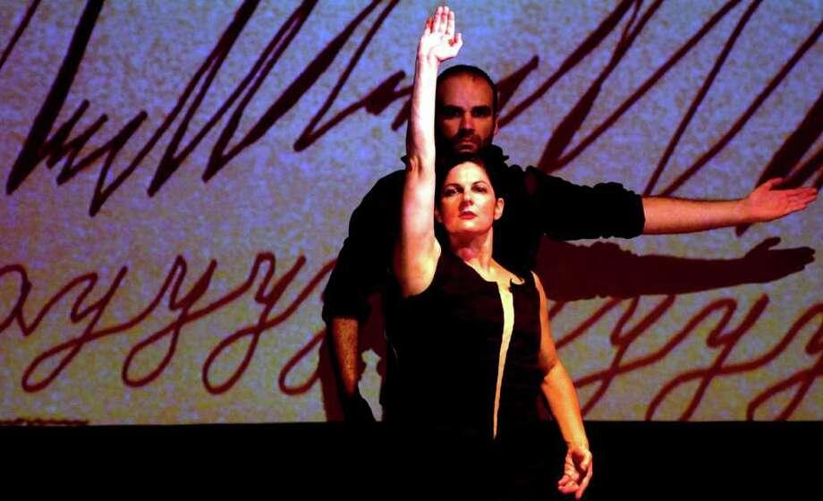 "San Antonio dancers Antonio Arrebola and Tamara Saj, who will participate in the ""Flamencos"" show in January 2012 at the Carver Photo: Lorie Garcia, Courtesy Photo"