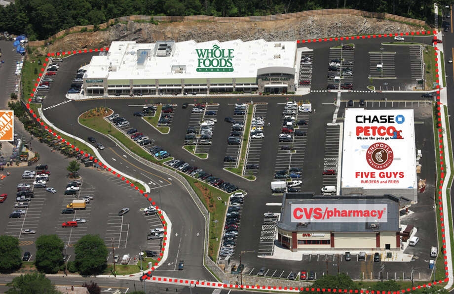 The Kings Crossing Shopping Center, home to Whole Foods,has been sold. Photo: Contributed Photo / Fairfield Citizen