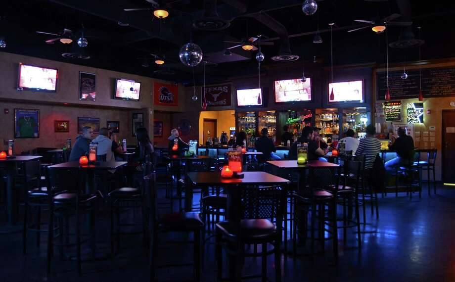 Shenanygans, 6422 Babcock Road, is a haven for sports lovers with several flat screens dedicated to showing all the big games as well as a spot for karoke, dancing and pool and darts.  Photo: Robin Johnson, SPECIAL TO THE EXPRESS-NEWS / SAN ANTONIO EXPRESS-NEWS