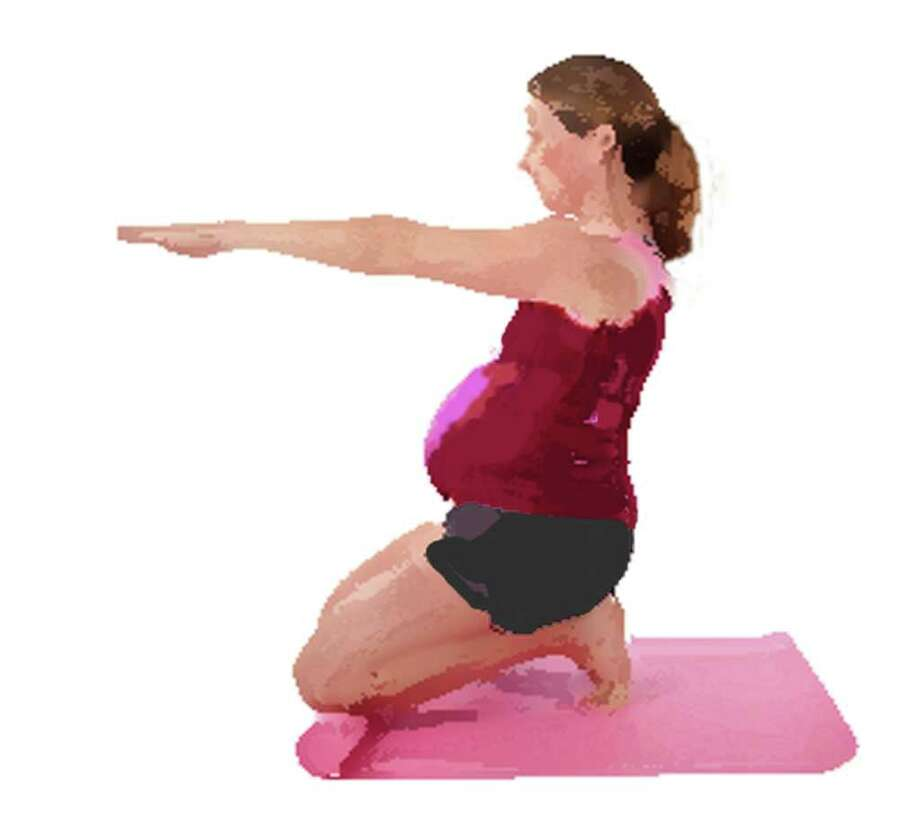 Working out while pregnant Photo: Contributed Photo