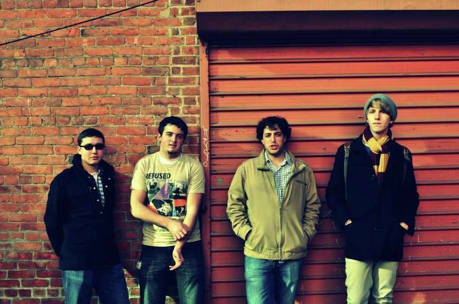 The Stamford-based band Sea Rhapsody  has a couple of performances scheduled this week, including one at Franklin Street Works on Thursday, Jan. 5, and one at Monster B's Bar and Grille on Saturday, Jan. 7. The band's members are, from left, Lee Gordon, Wade McManus, Joey Conti and Sam Enright. For more information, visit www.facebook.com/Searhapsody Contributed photo/Frank Conti Photo: Contributed Photo
