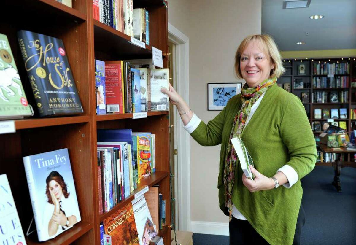 Alice Hutchinson has opened a bookstore called Byrd's Books in Bethel. It's located above the space which will become the new home of Molten Java at 213 Greenwood Ave. in the Dolan Plaza. Photo taken Tuesday, January 3, 2012.