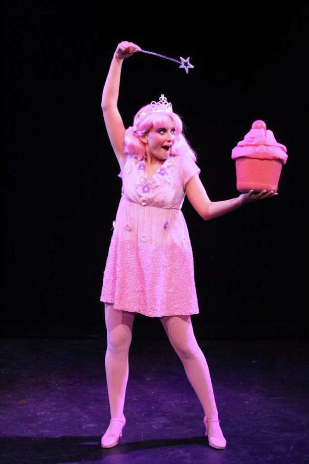 "Ashley DePascale is ""Pinkalicious"" in the Downtown Cabaret Theatre's musical production for children, running Jan. 15 through Feb. 19 in Bridgeport. Photo: Contributed Photo"