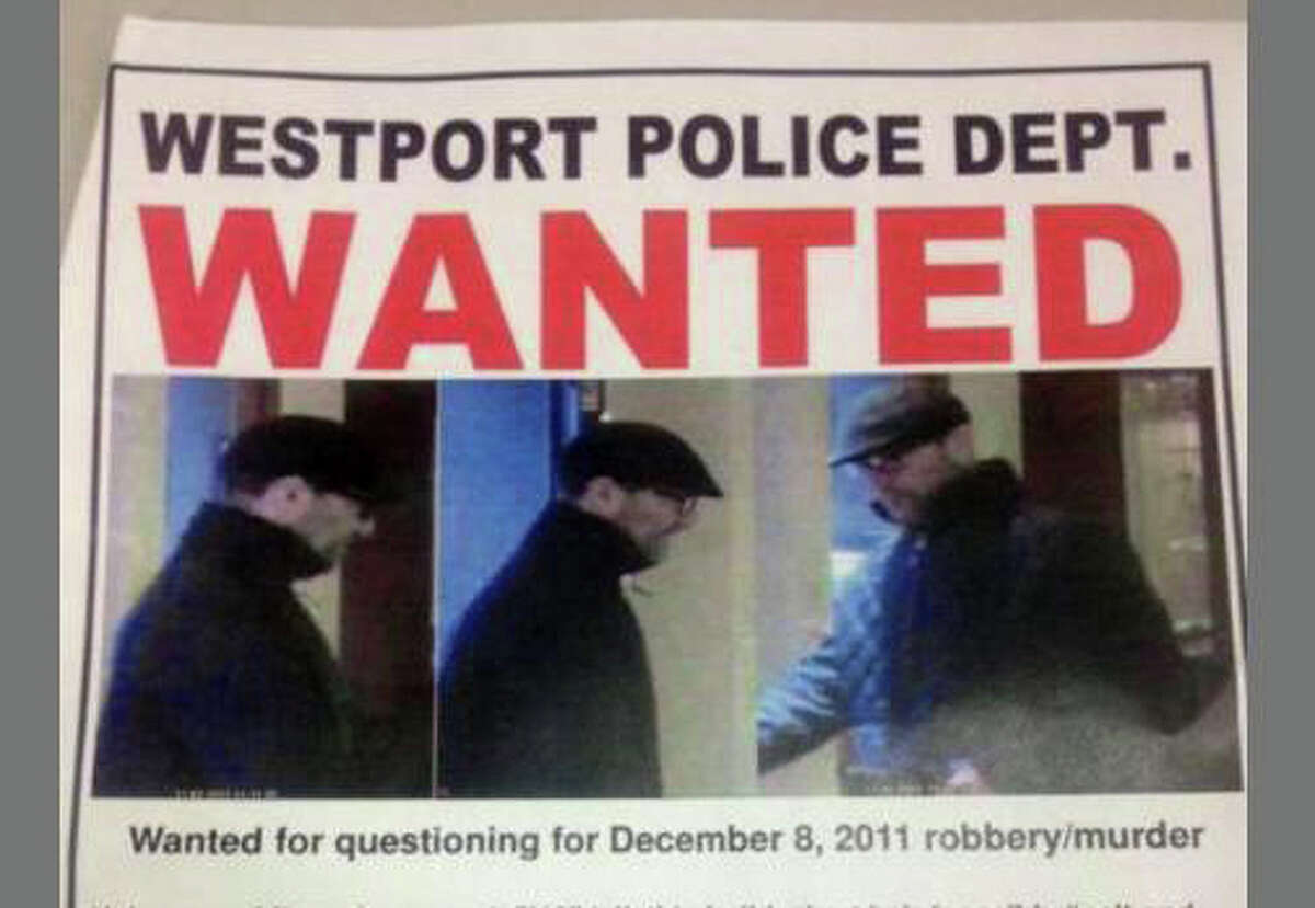 """A """"Wanted"""" poster from the Westport Police Department shows the suspect in the robbery and killing of Westport jeweler Yekutiel Zeevi."""