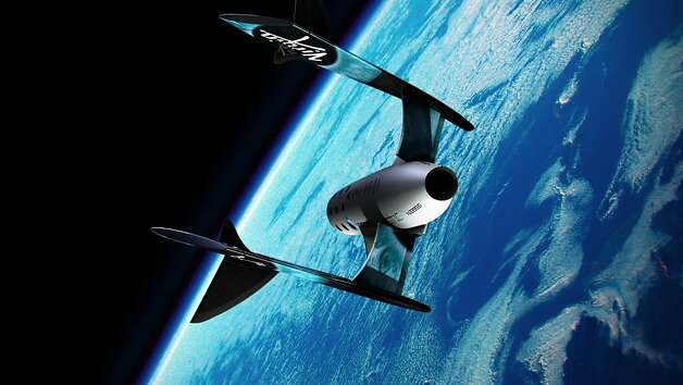 Virgin Galactic already has reservations from 500 people willing to pay $200,000 and eager to be launched into space on a suborbital jaunt. Photo: Virgin