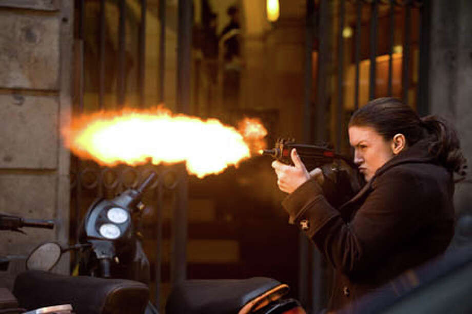 "Gina Carano as Mallory Kane in ""Haywire."" Photo: Claudette Barius / ©2011 Five Continents Imports, LLC. All Rights Reserved"
