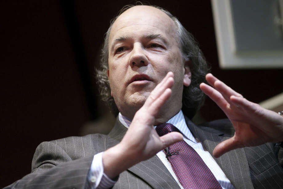 "Darien native James Rickards published ""Currency Wars: The Making of the Next Global Crisis"" in an effort to educate people about how money influences policies and effects national security. Photo: Contributed Photo"