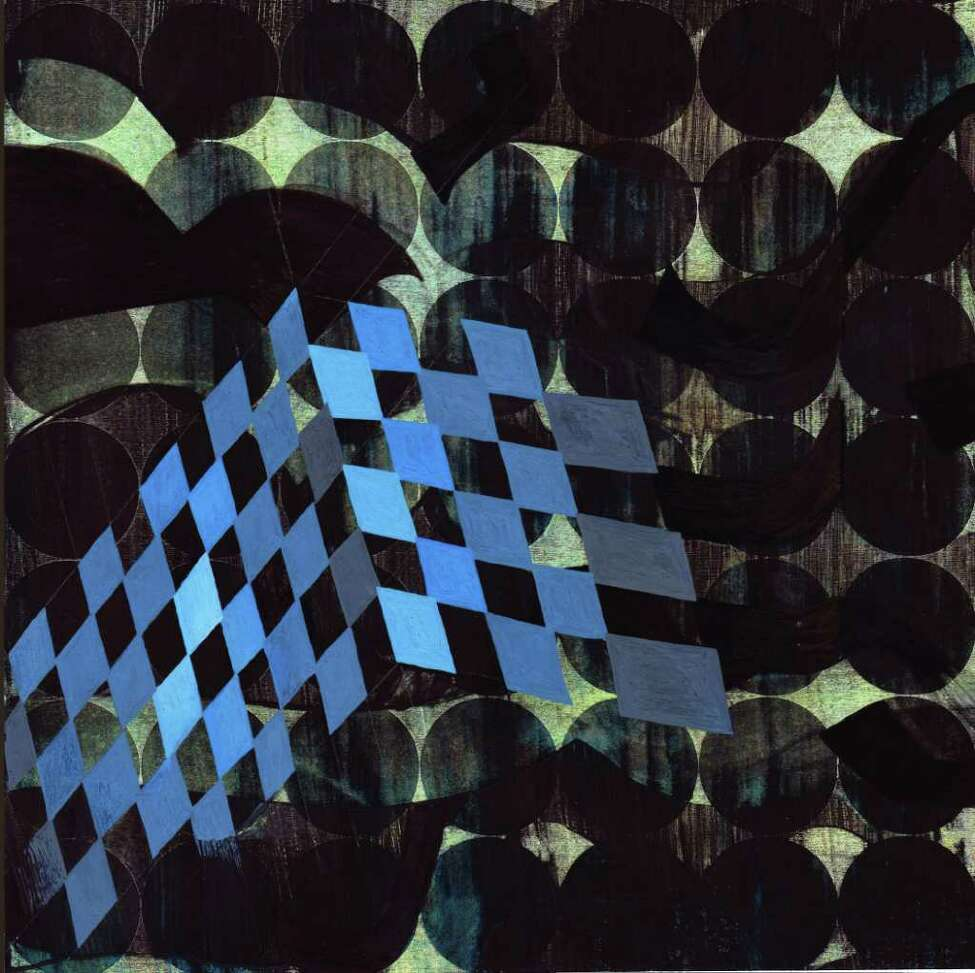 JOHN DAVIS GALLERY ?PATIO AZUL? is from the ?pattern series? by Dionisio Cortes on display starting Thursday in a solo exhibition at John Davis Gallery, Hudson, through Jan. 29. There will be a reception on Saturday from 6 to 8 p.m.
