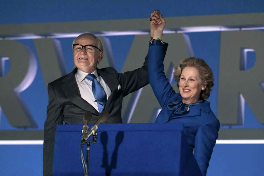 """Jim Broadbent and Meryl Streep star in """"The Iron Lady."""" Photo: WEINSTEIN CO."""