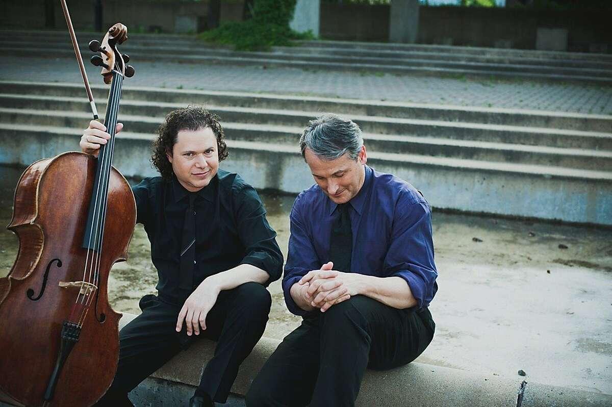 Cellist Matt Haimovitz (l.) and pianist Christopher O'Riley