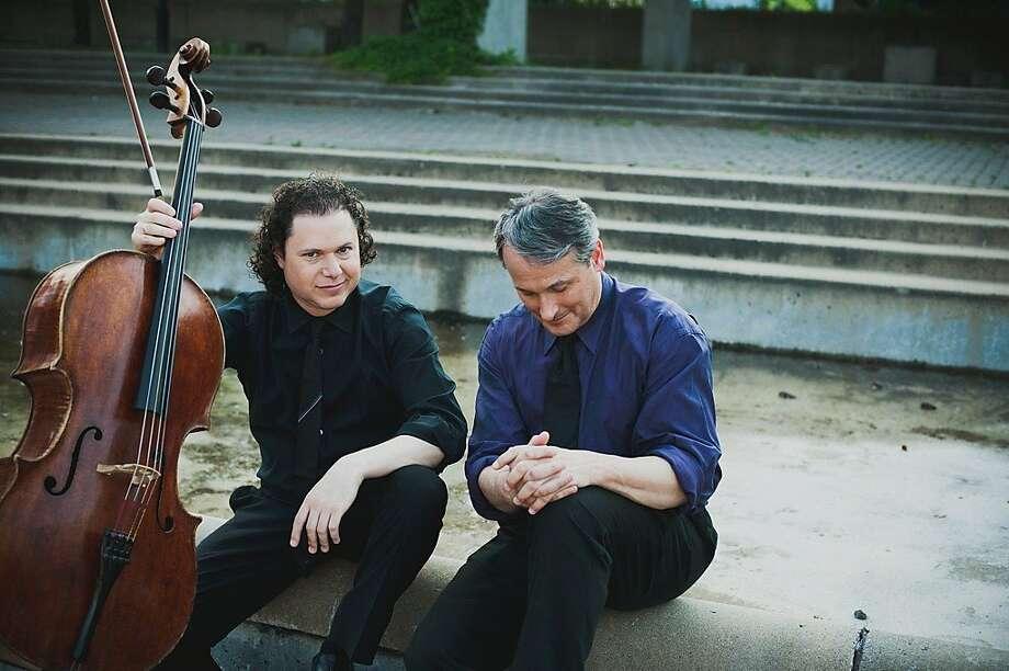 Cellist Matt Haimovitz (l.) and pianist Christopher O'Riley Photo: Sarah Scott
