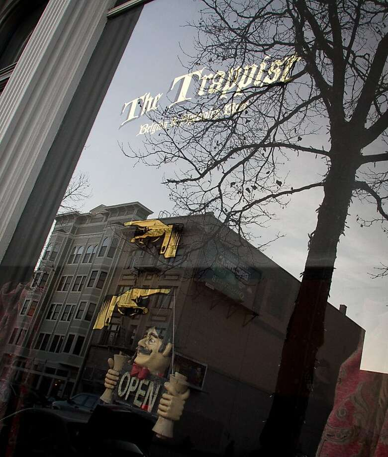 The exterior of  Trappist Bar in Oakland, Calif.,  is seen on Tuesday, December 20th,  2011. Photo: John Storey