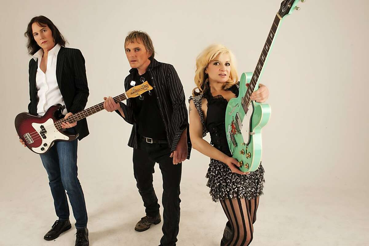 The Yes Go's (from left): Djuna Gray, Lester Moore, Sophie Vogel.