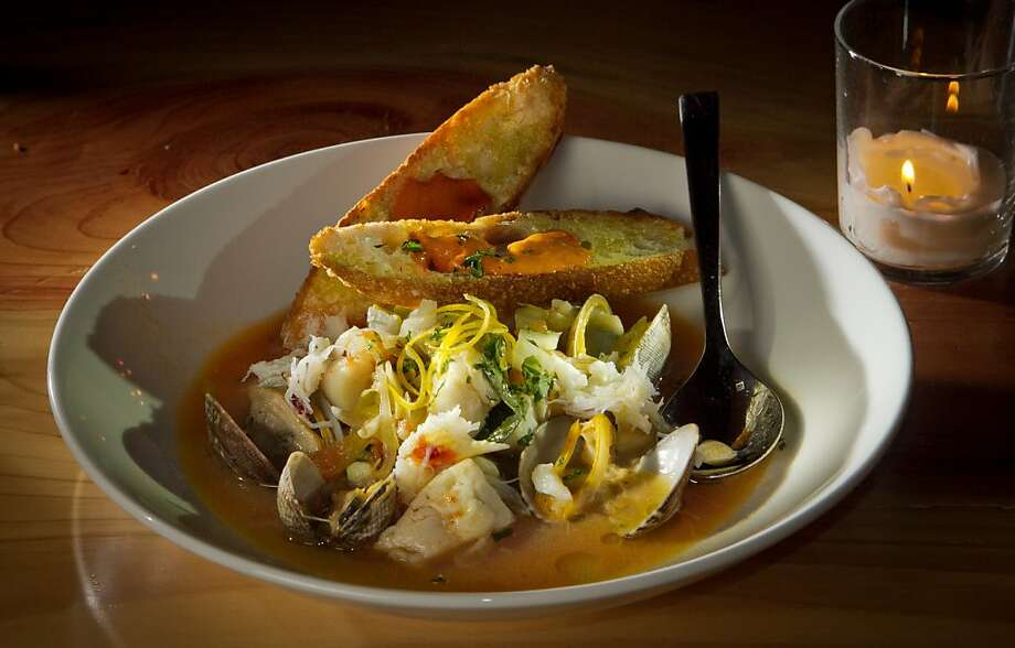 The Cioppino at Toast restaurant in Oakland, Calif., is seen on Thursday, December 29th,  2011. Photo: John Storey