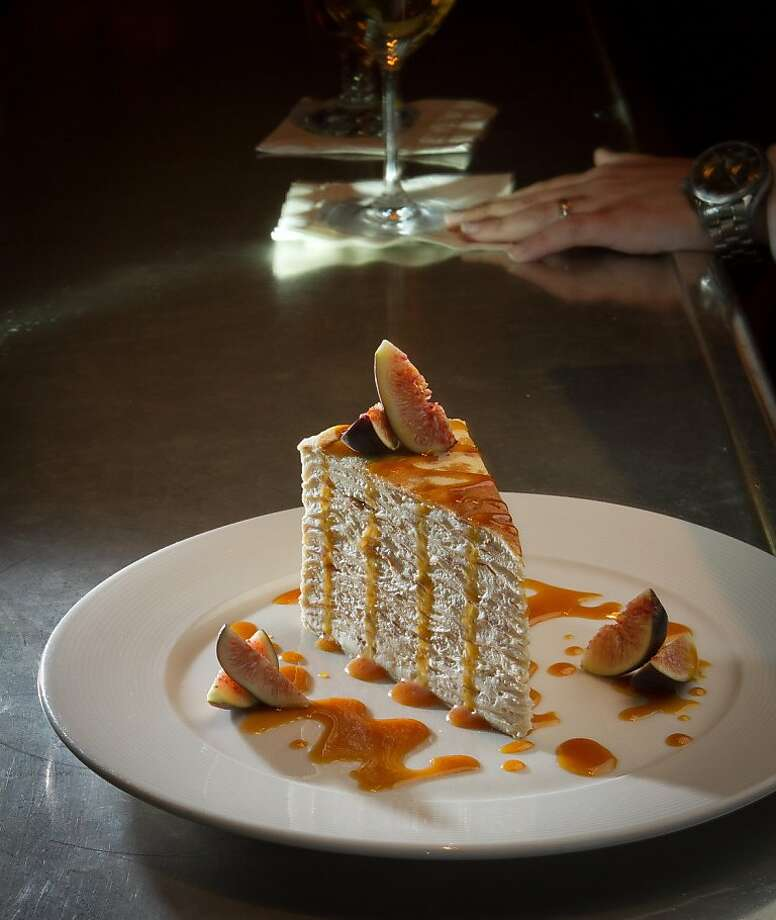 The 24 Layer Crepe Cake at Cafe Des Amis in San Francisco, Calif., is seen on Tuesday, November 1,  2011. Photo: John Storey, Special To The Chronicle