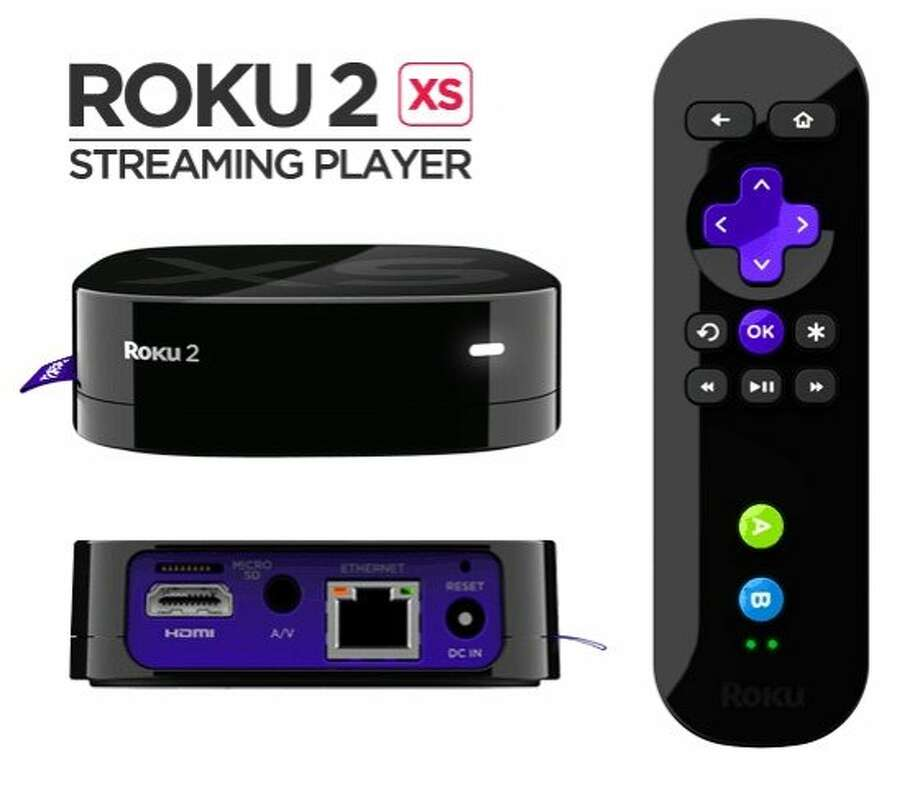 In this undated product image provided bu Roku 2, shows the Roku 2 XS Streaming Player. The streaming stick won't be available until the second half of this year, but Roku announced it Wednesday, Jan. 4, 2012, to get a jump on the onslaught of consumer gadgets that will be unveiled next week at an annual electronics show in Las Vegas. (AP Photo/Roku 2) Photo: Associated Press