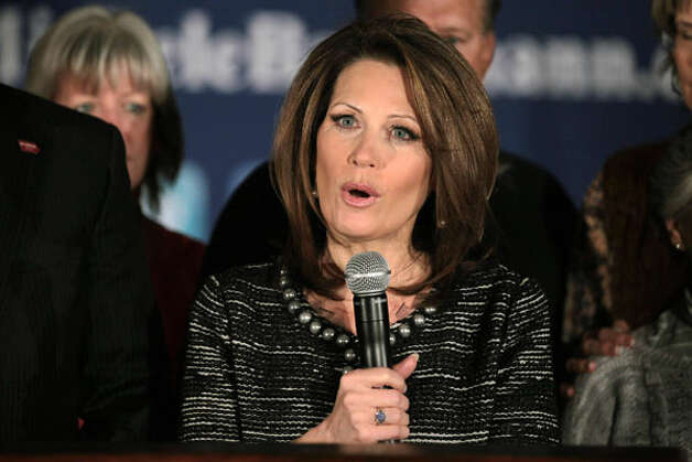 Rep. Michele Bachmann, R-Minn., organizer of the Tea Party Caucus, flopped as a presidential candidate in Iowa and is fighting for her political life back in Minnesota this fall. Photo: Getty Images