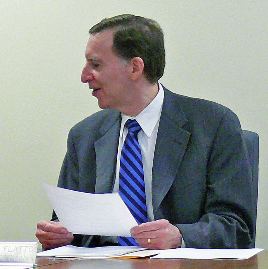 Former First Selectman Kenneth Flatto and former Town Attorney Richard Saxl are at the center of the latest Fairfield Metro news. Photo: Genevieve Reilly / Fairfield Citizen
