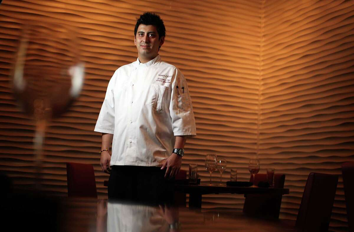 Chef David Guerrero photographed at Samba Grille inside Bayou Place on Tuesday, Dec. 20, 2011, in Houston. ( Mayra Beltran / Houston Chronicle )