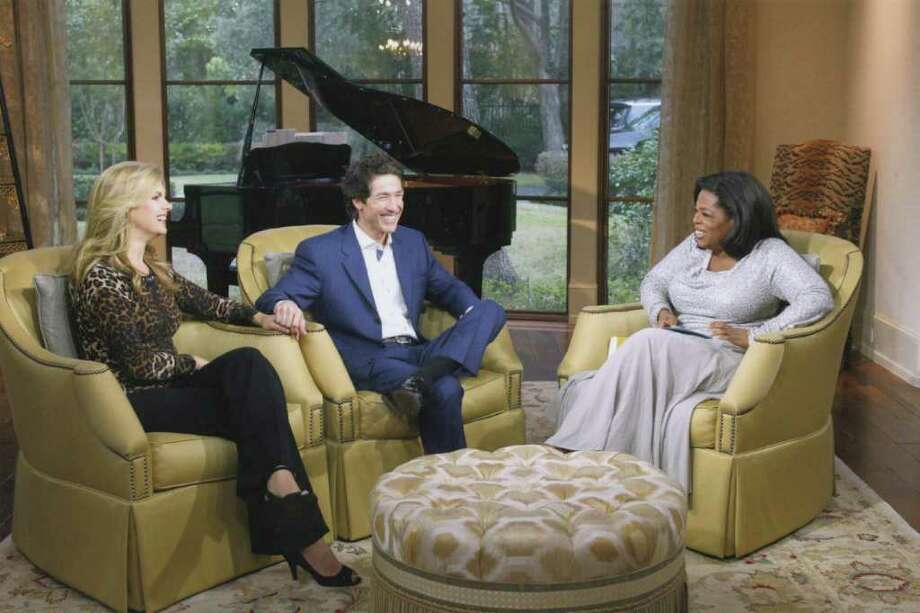 Victoria and Joel Osteen will appear on Oprah Winfrey's Next Chapter series Sunday on OWN. (Photo courtesy of Harpo Studios)
