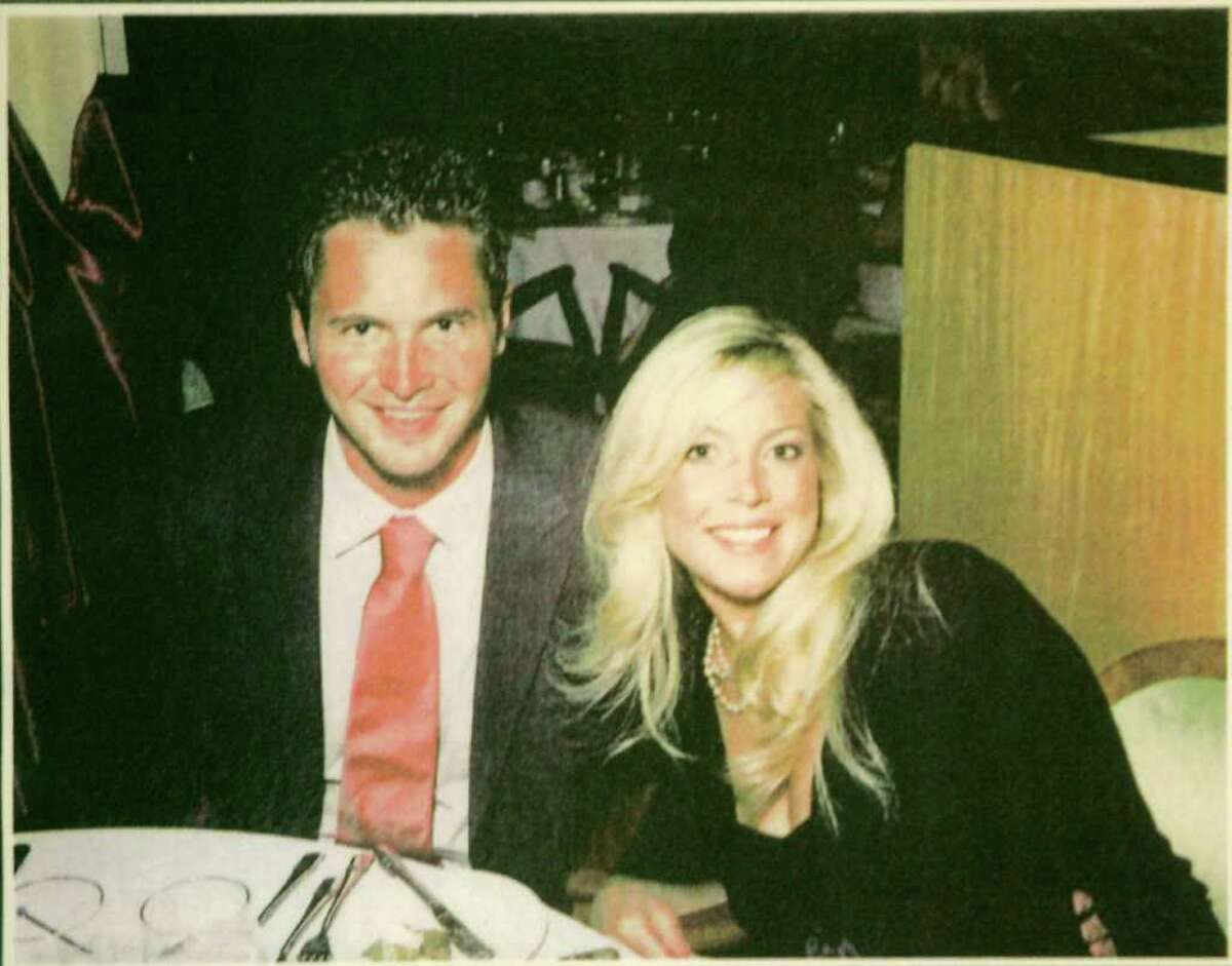 George Smith IV and his wife, Jennifer Hagel Smith in 2005. George Smith, of Greenwich, disappeared while on his honeymoon cruise in the Aegean Sea in 2005.