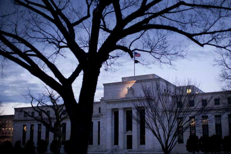 The Federal Reserve, based in Washington, plans to release its policymakers' individual forecasts. Photo: Brendan Smialowski / © 2011 Bloomberg Finance LP